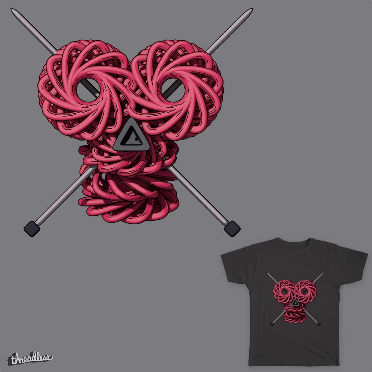 Knitting pirate by usinglight on Threadless