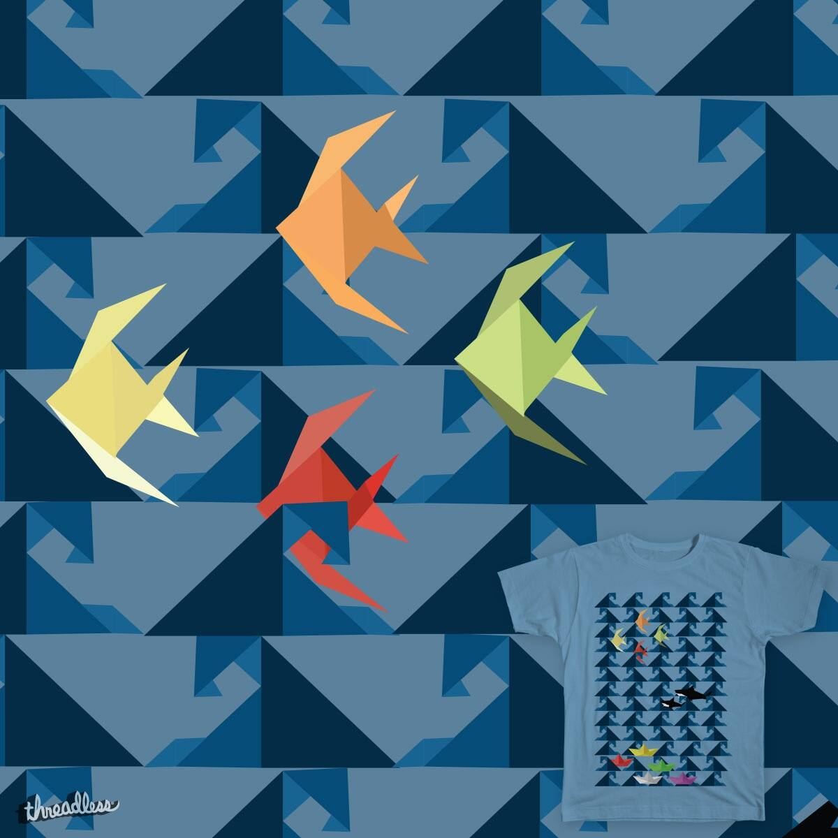 Origami Ocean Life by awesomeness2121 on Threadless