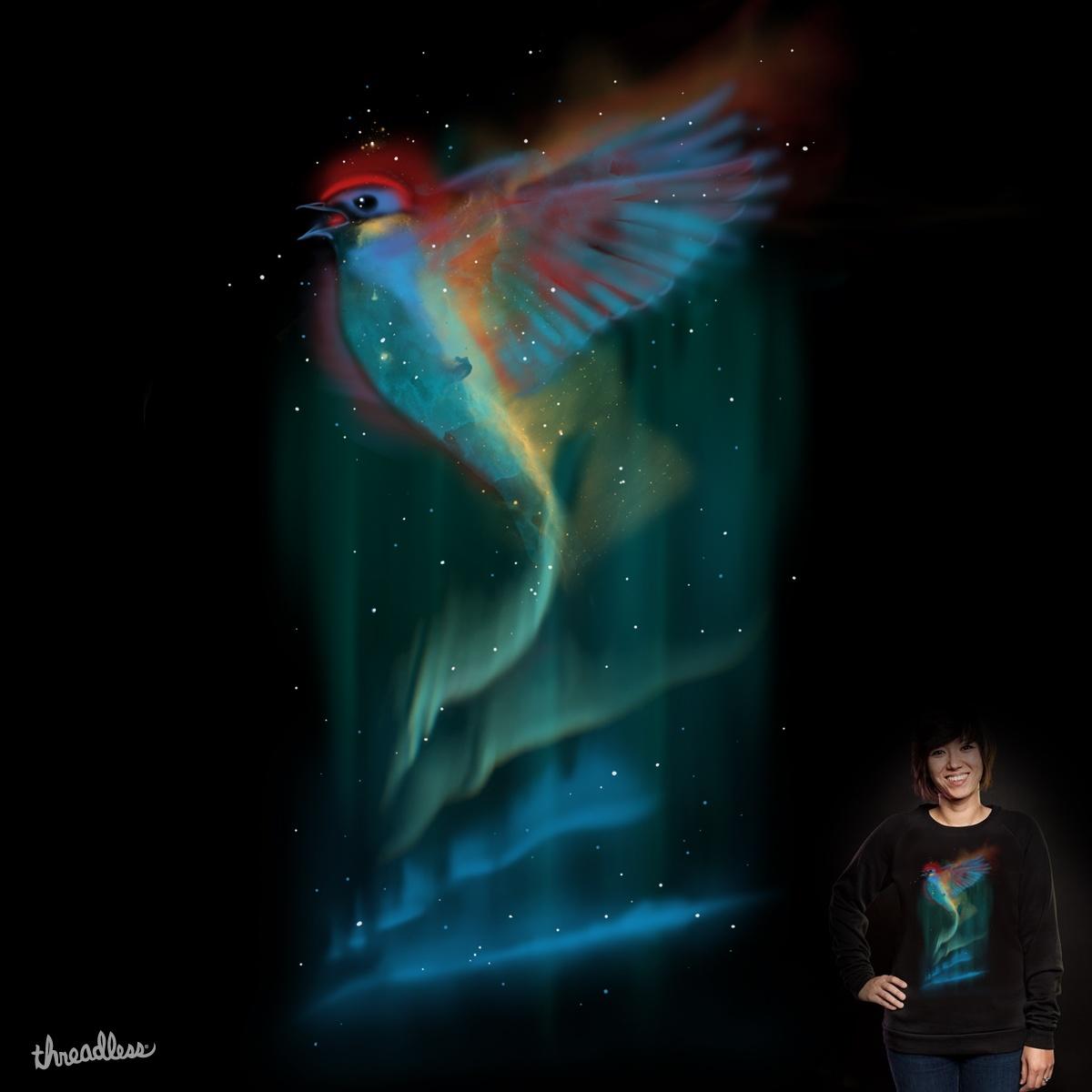Aurora Bird by Oktomanuba on Threadless