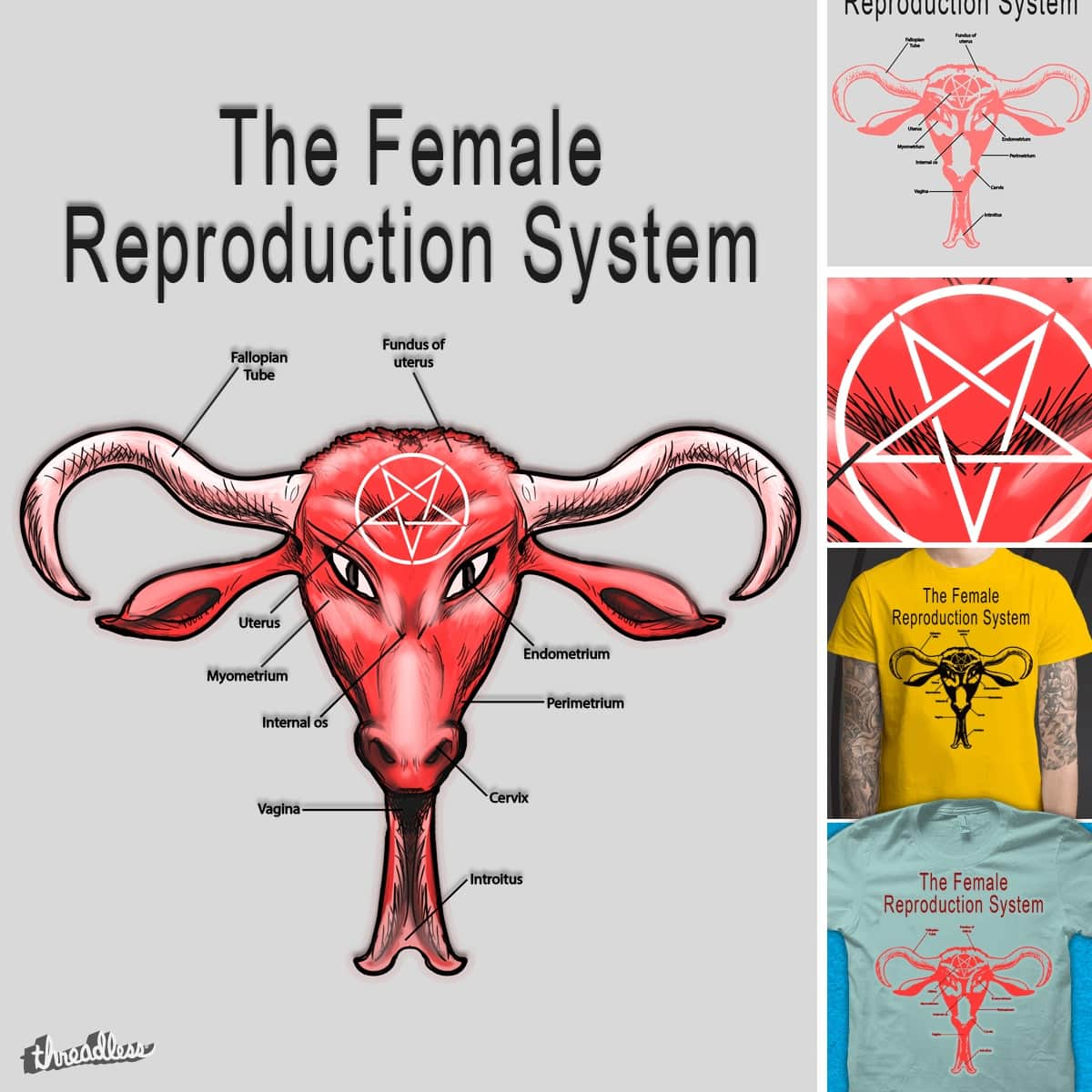 The Baphomet System! by YabuloStore919 on Threadless