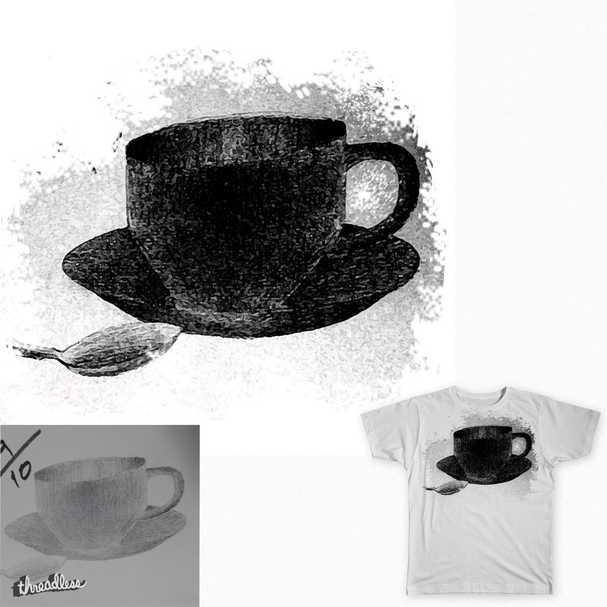 Cup of tea-shirt by Ahmadabz94 on Threadless