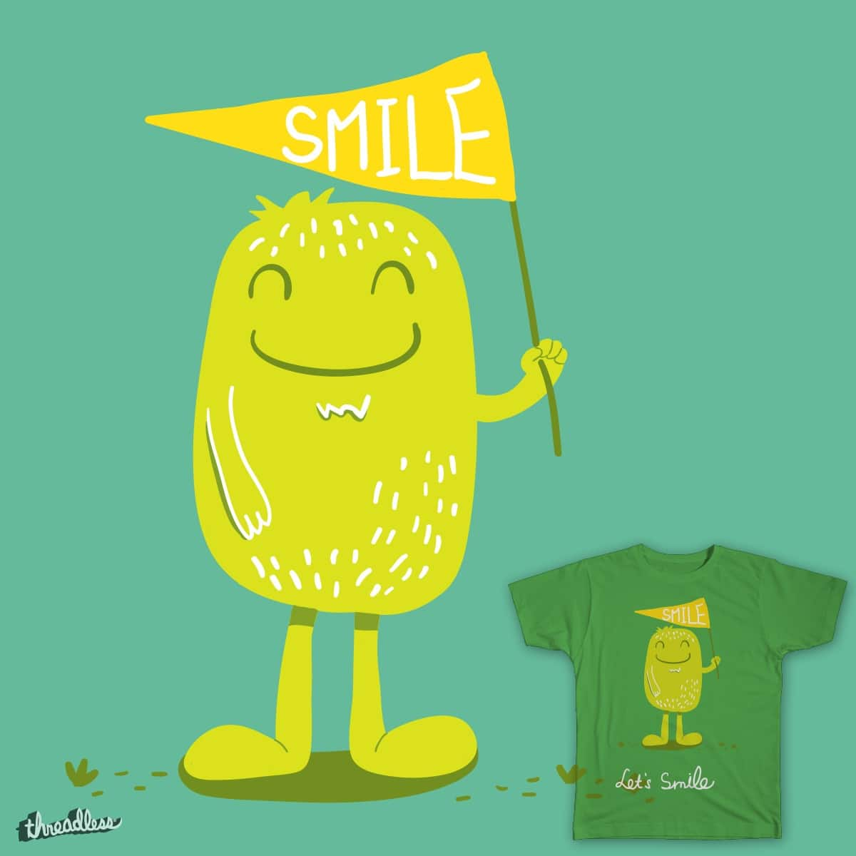 Let's Smile by woomzm on Threadless