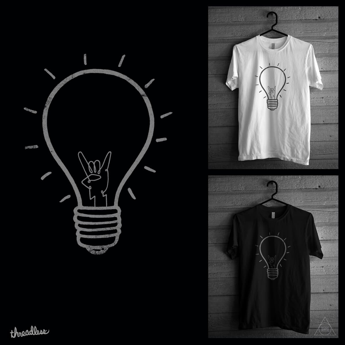 Ideas Rock by expo on Threadless