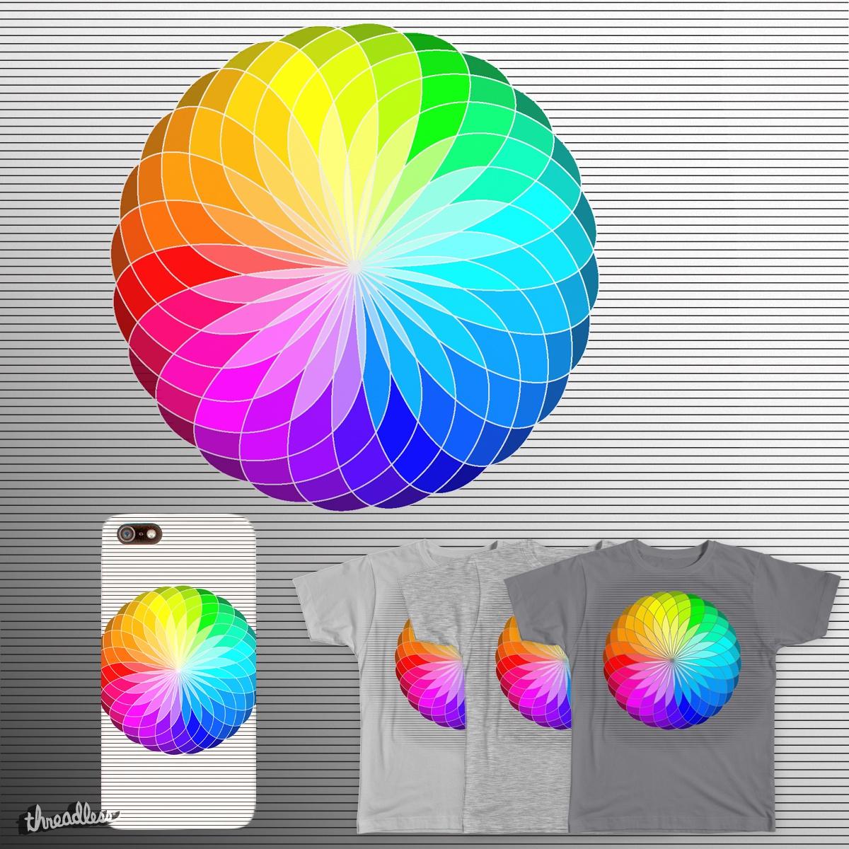 Colours :) by RilstaJB on Threadless