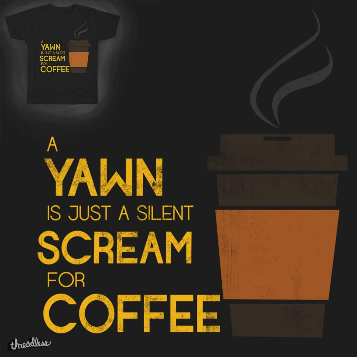 I Scream, You Scream by Allen&Allan on Threadless