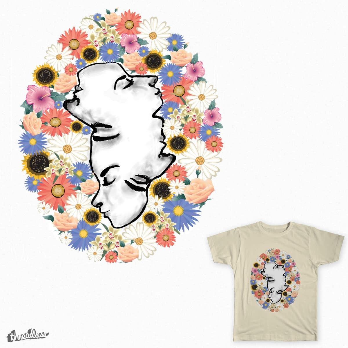 Face Off by adrianaxm on Threadless