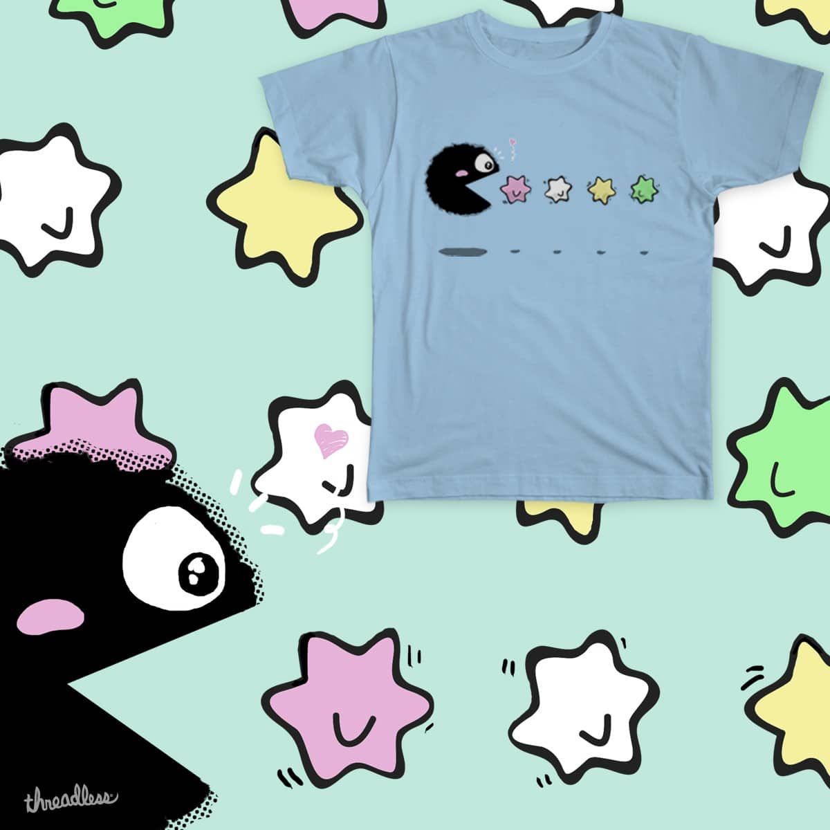Soot Pacman by PichinsCreations on Threadless