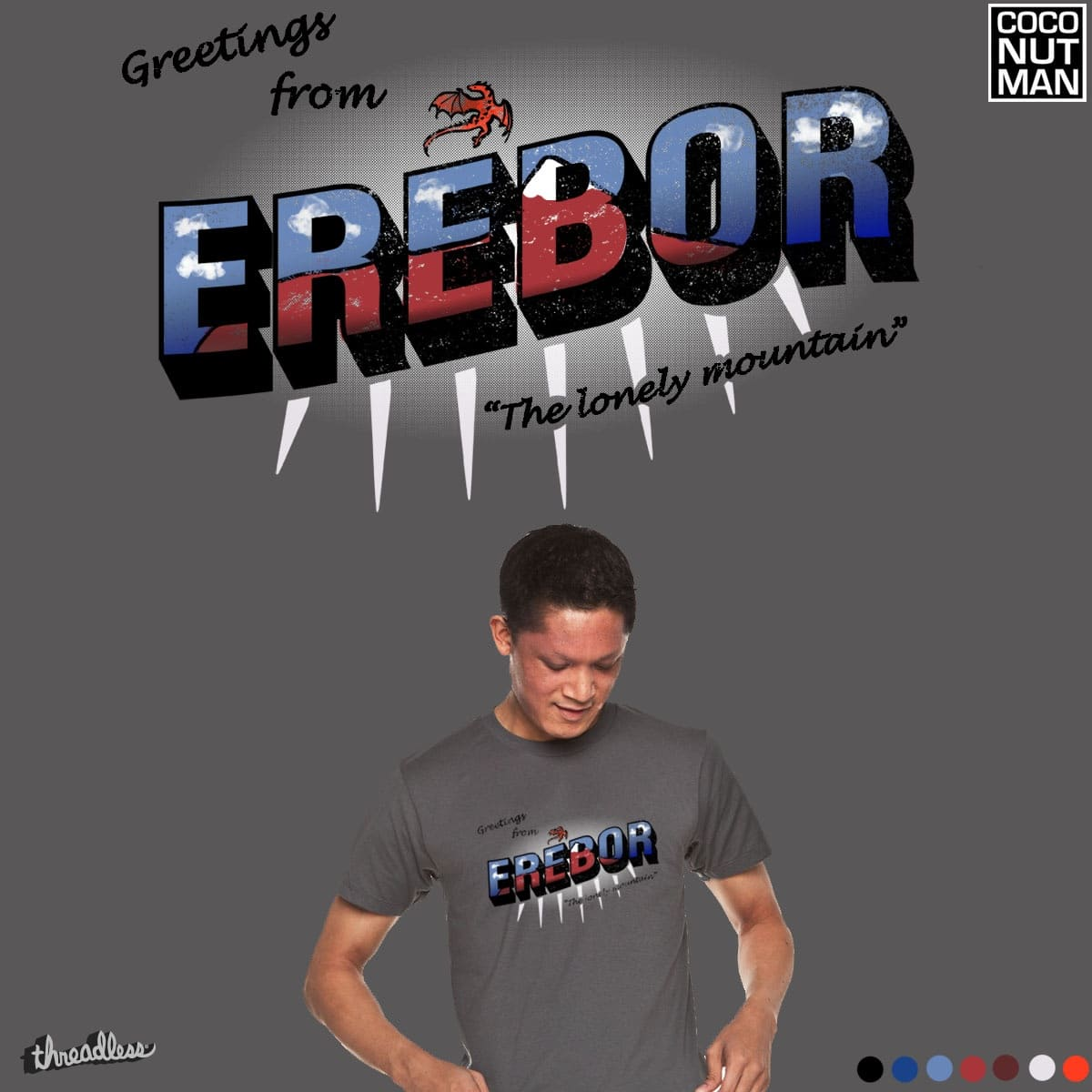 Greetings frome Erebor! by coconutman on Threadless