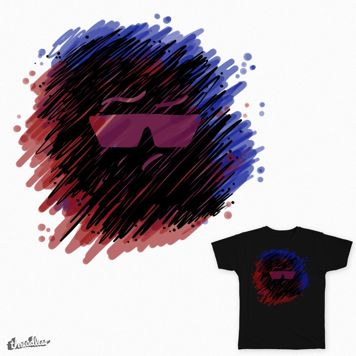 All Is Calm by FerMac on Threadless