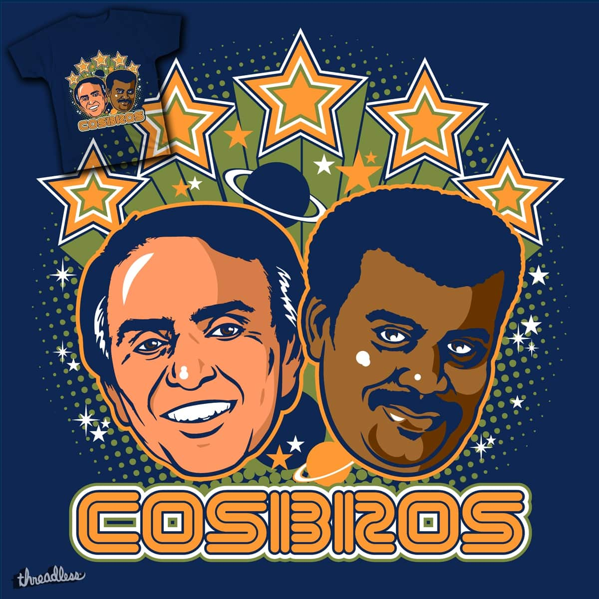 Cosbros by magicgoo on Threadless