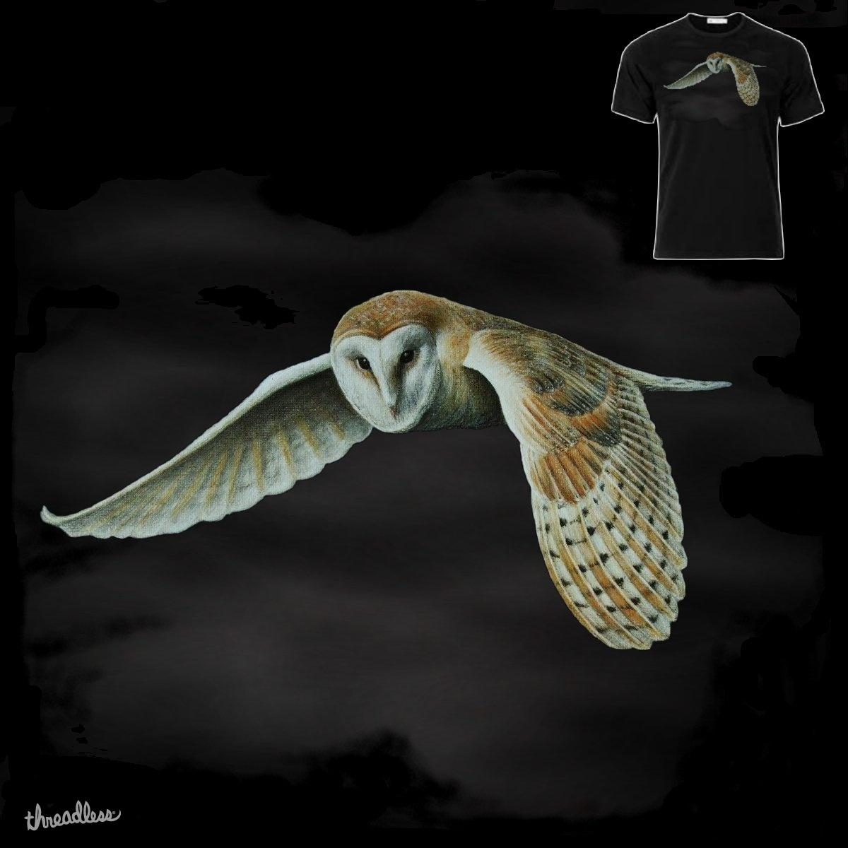 Barn Owl by Paparaw on Threadless