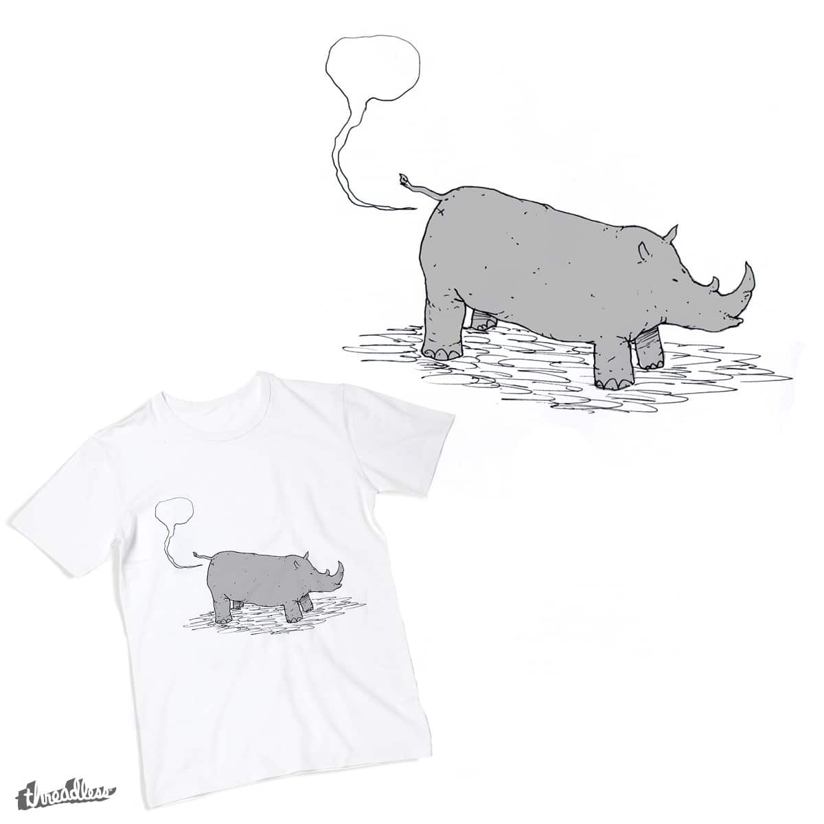 rhino fart by Pimaind on Threadless