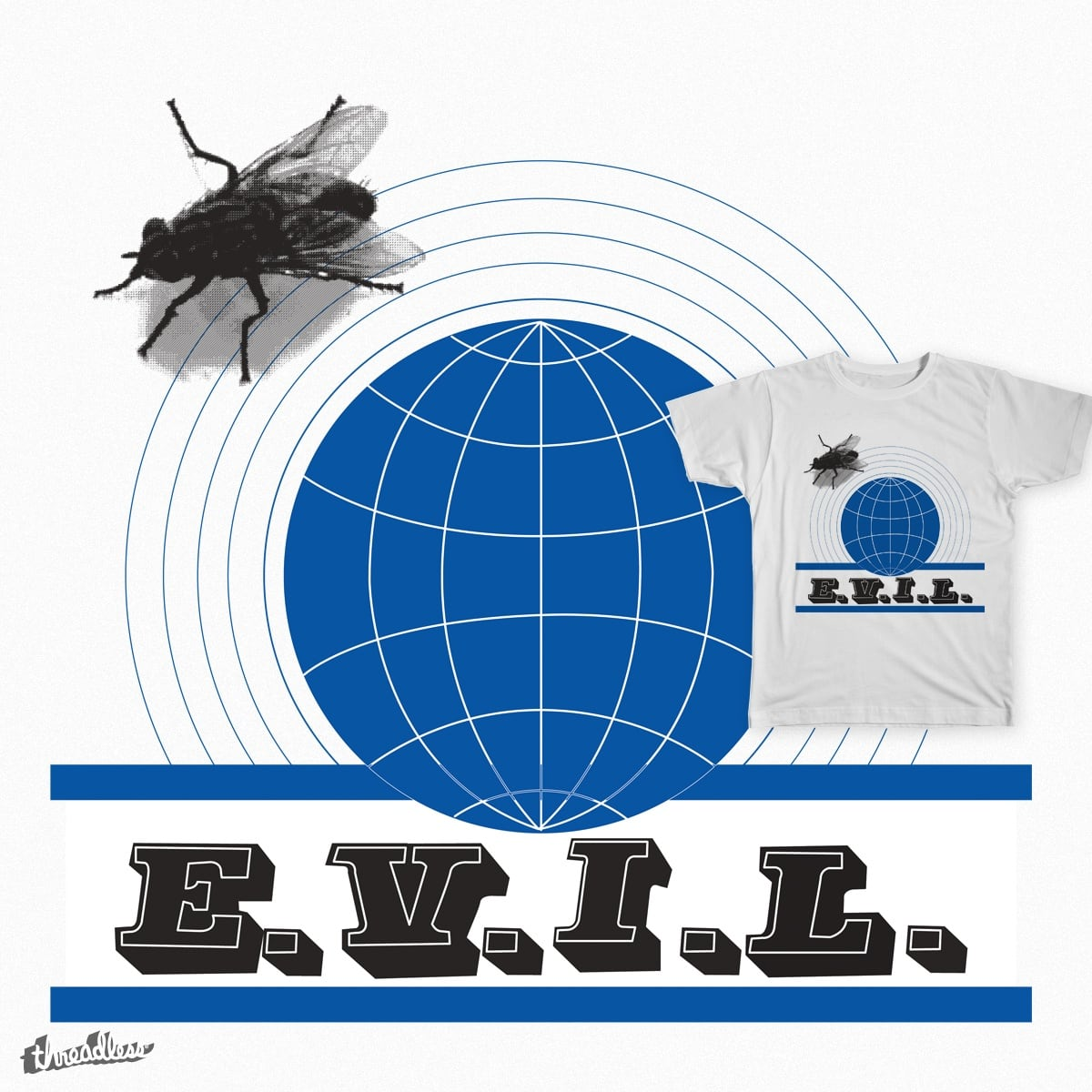 Fly from E.V.I.L. by SimonVine on Threadless