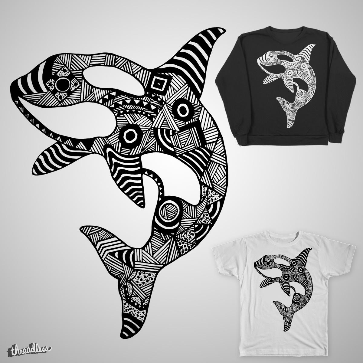 Animal Series - Blackfish by TMDesign on Threadless