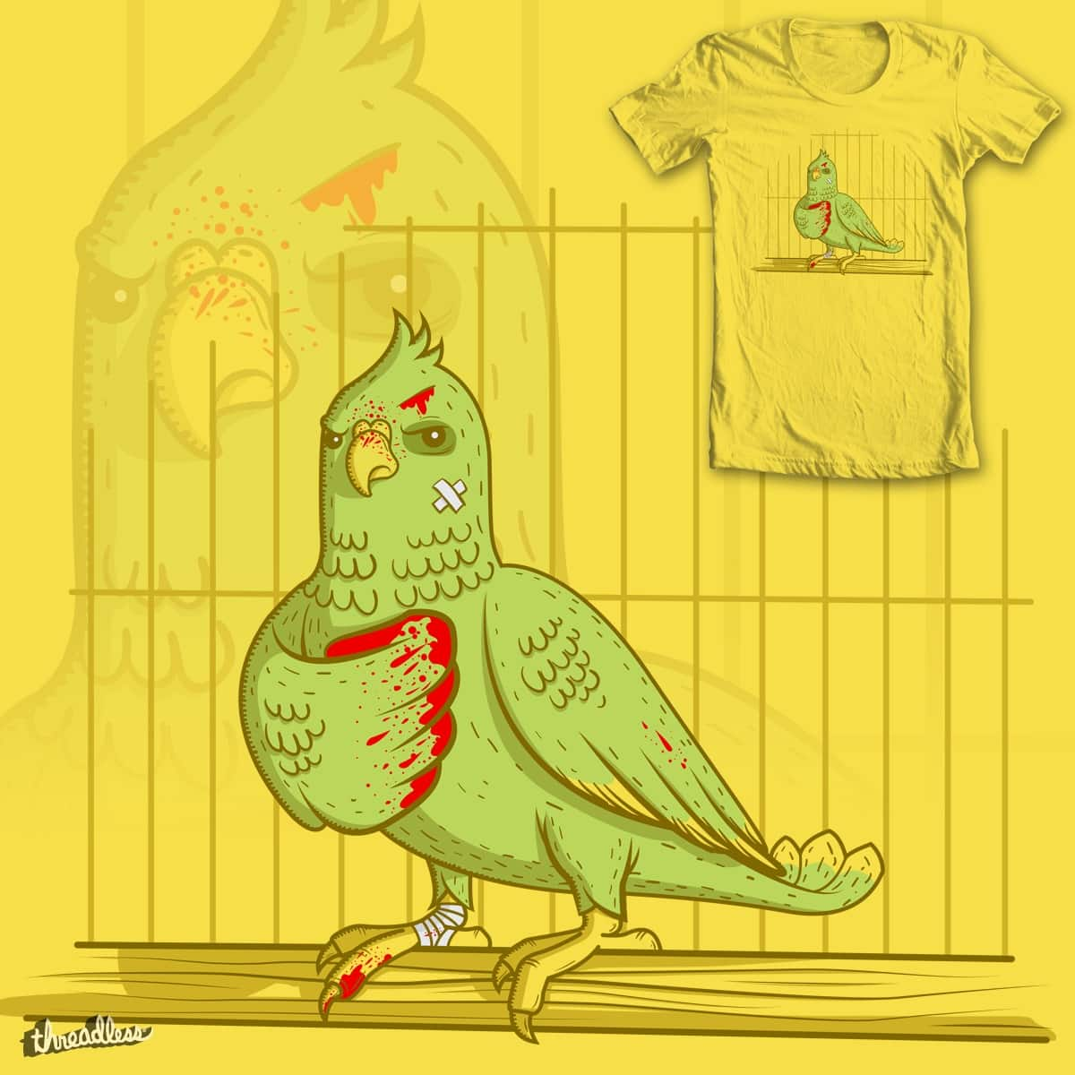 The Ultimate Cage Fighter by mip1980 on Threadless