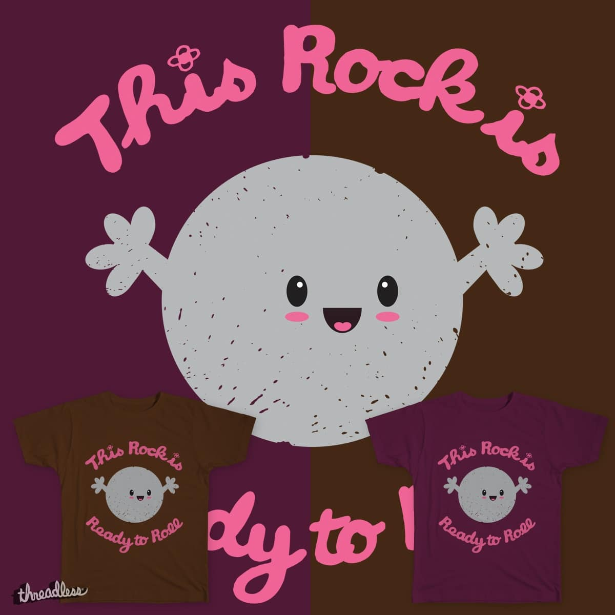 This rock is Ready to Roll by Sarahbevan11 on Threadless