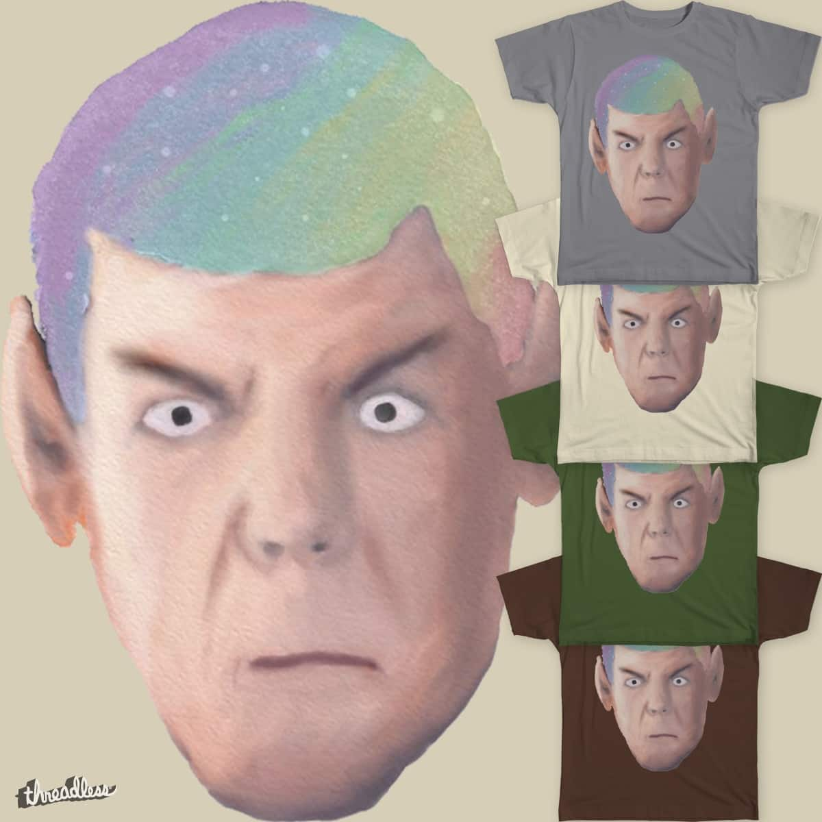Spock Sees the World by captainsulu on Threadless