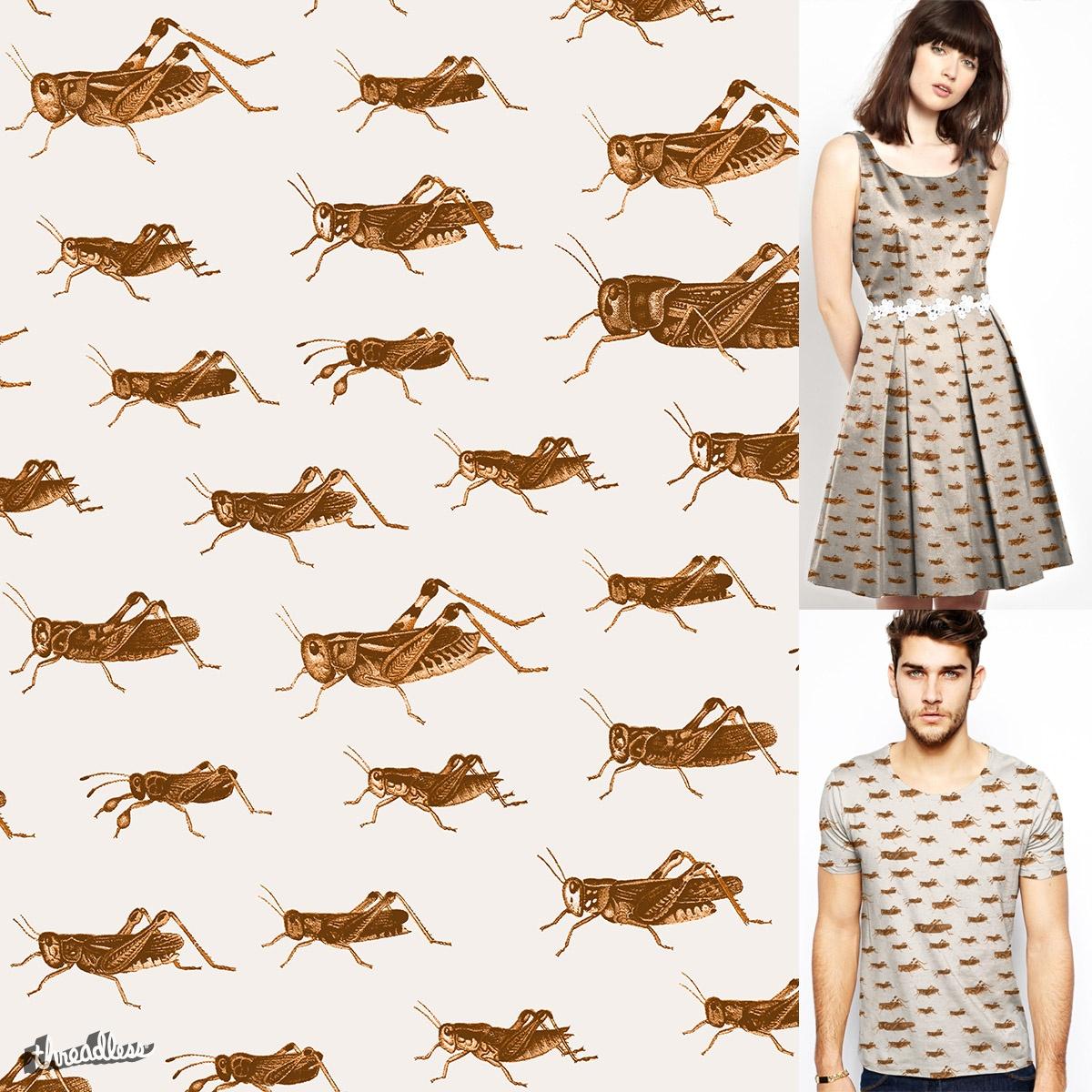 Crickets ! by speakerine on Threadless