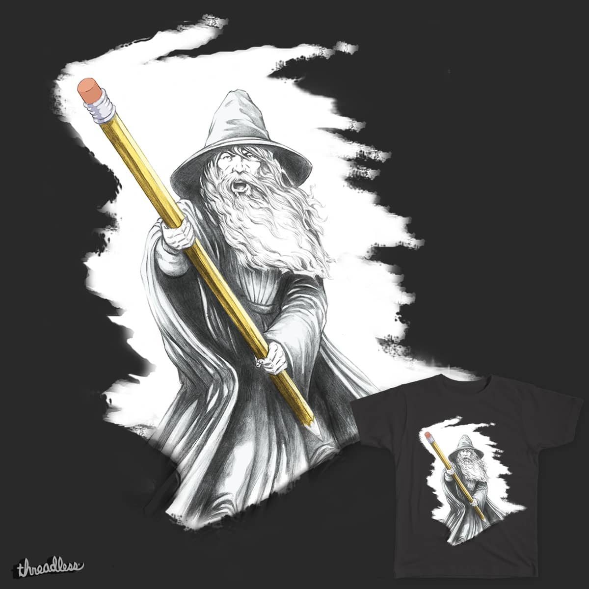The Magic Eraser by Herculoid on Threadless