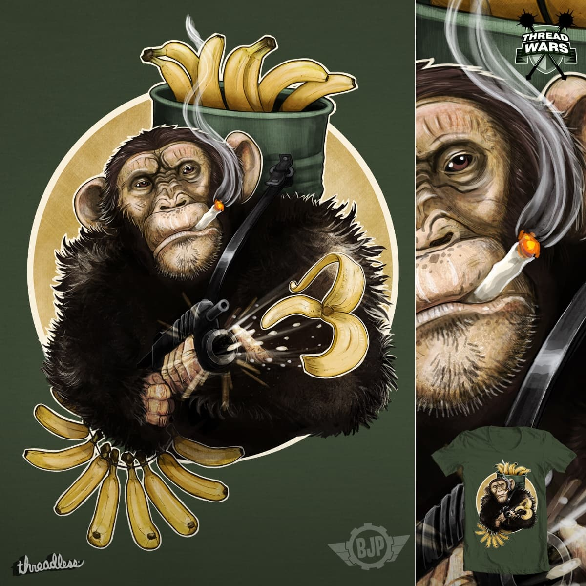 I LOVE THE SMELL OF BANANAS IN THE MORNING by BlancaJP on Threadless