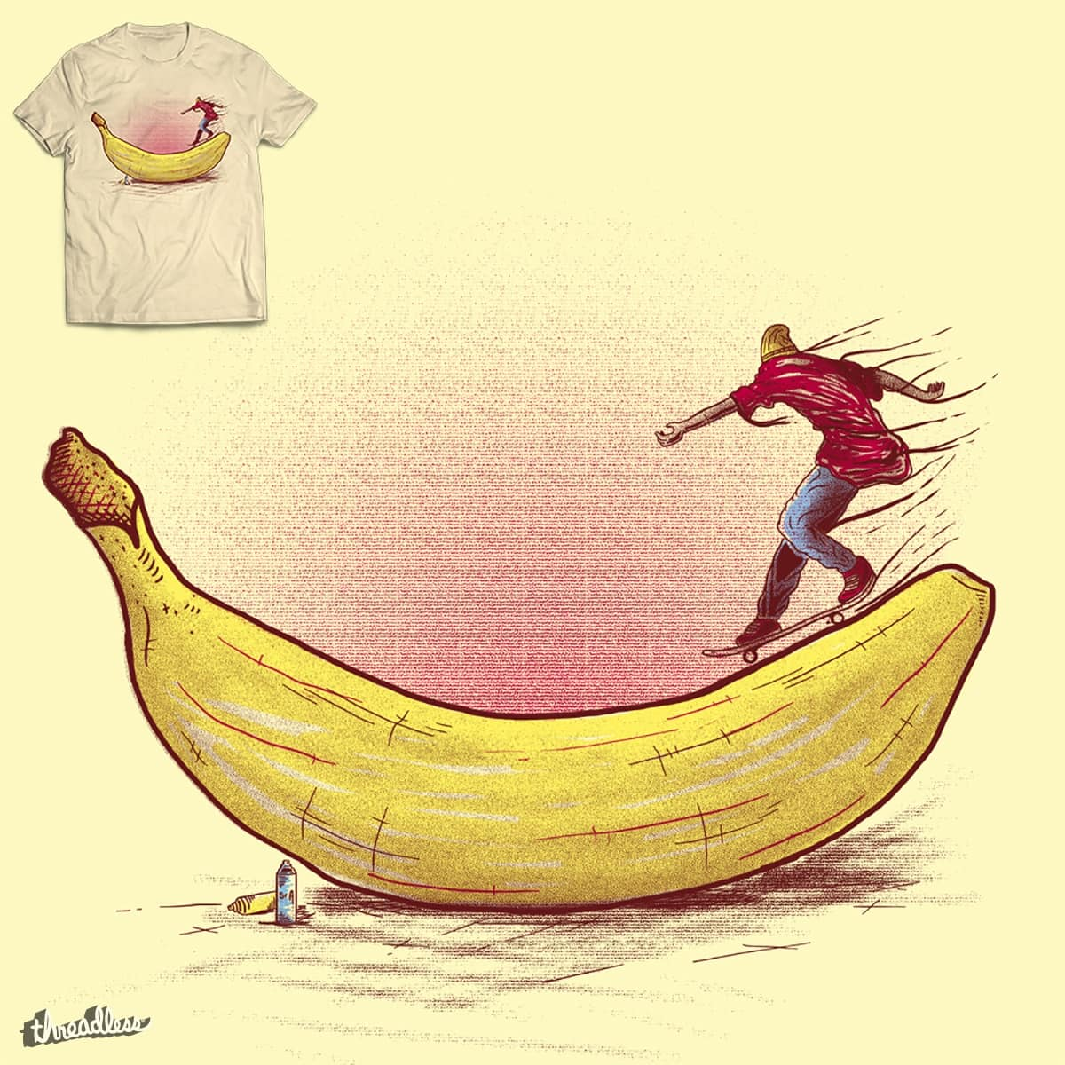 Banana! by Sr_Aderezo on Threadless