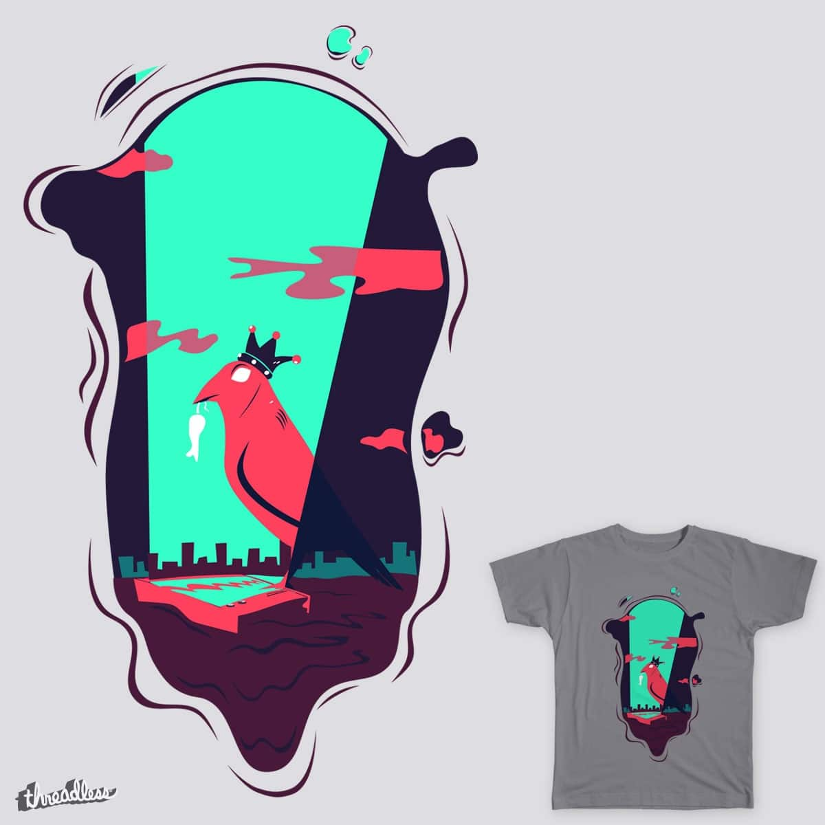 The Hidden vanity by Roy David Margaliot on Threadless