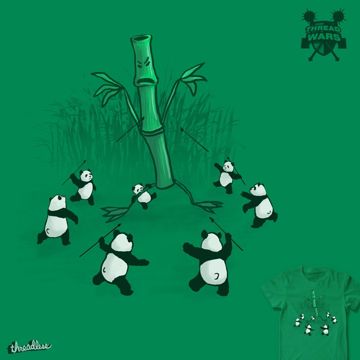 Bamboo Battle Bear Brigade by Pyne on Threadless