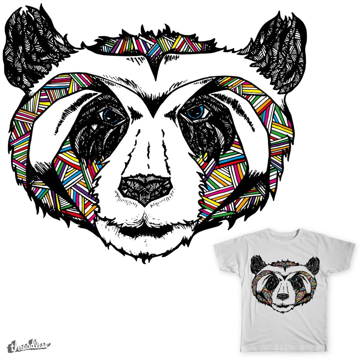 Party Panda by bbutterfield on Threadless