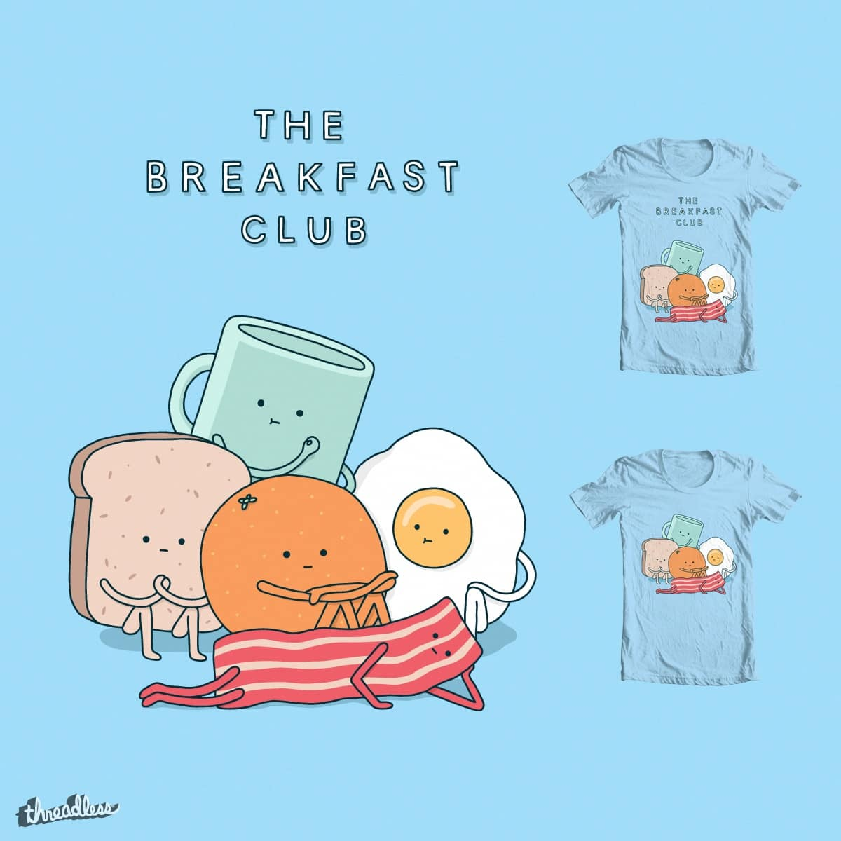 The Breakfast Club by Haasbroek on Threadless