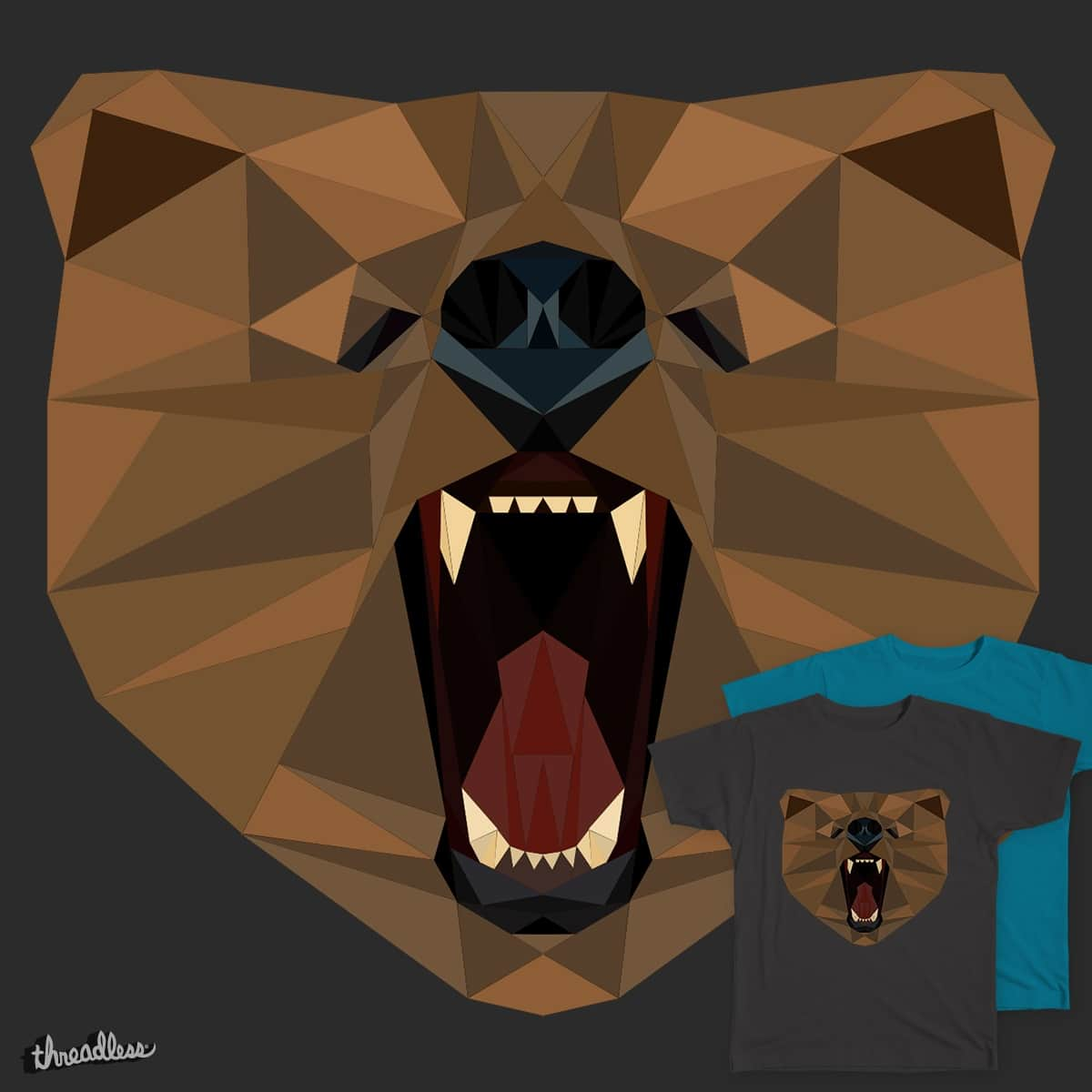 Grizzly by TetsuY on Threadless