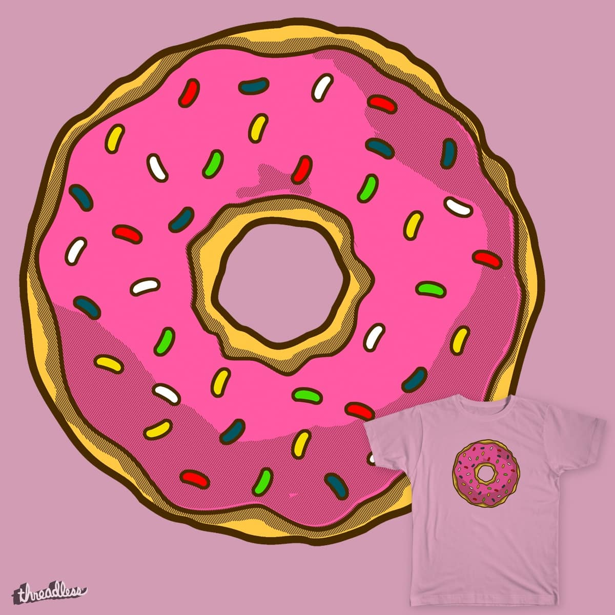 Donut by Melonseta on Threadless