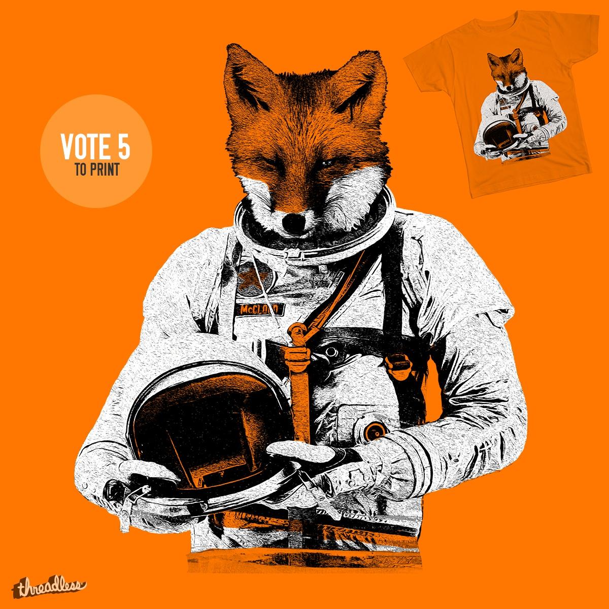 The Fastest Fox by Thomas Orrow on Threadless