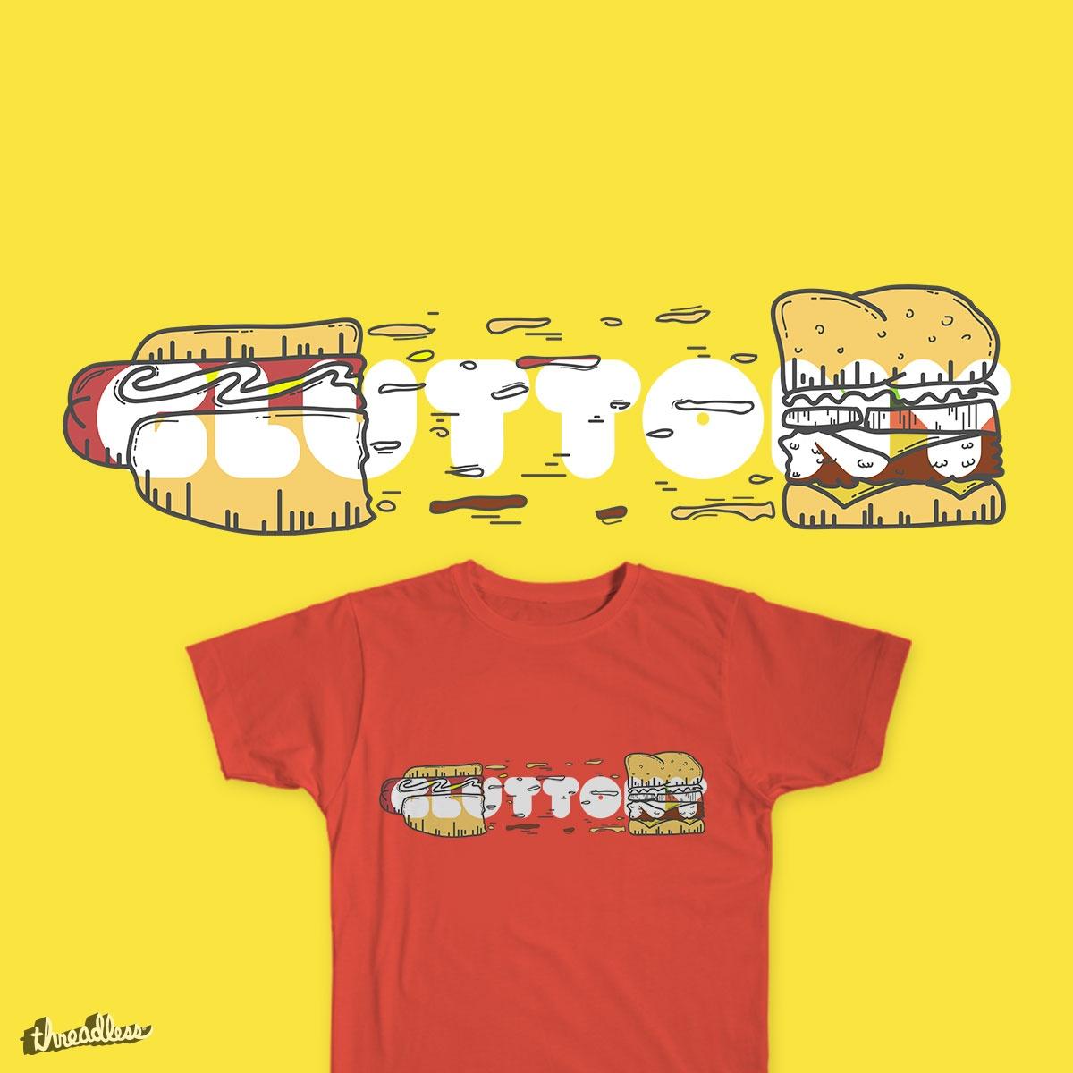 Gluttony by yotii on Threadless