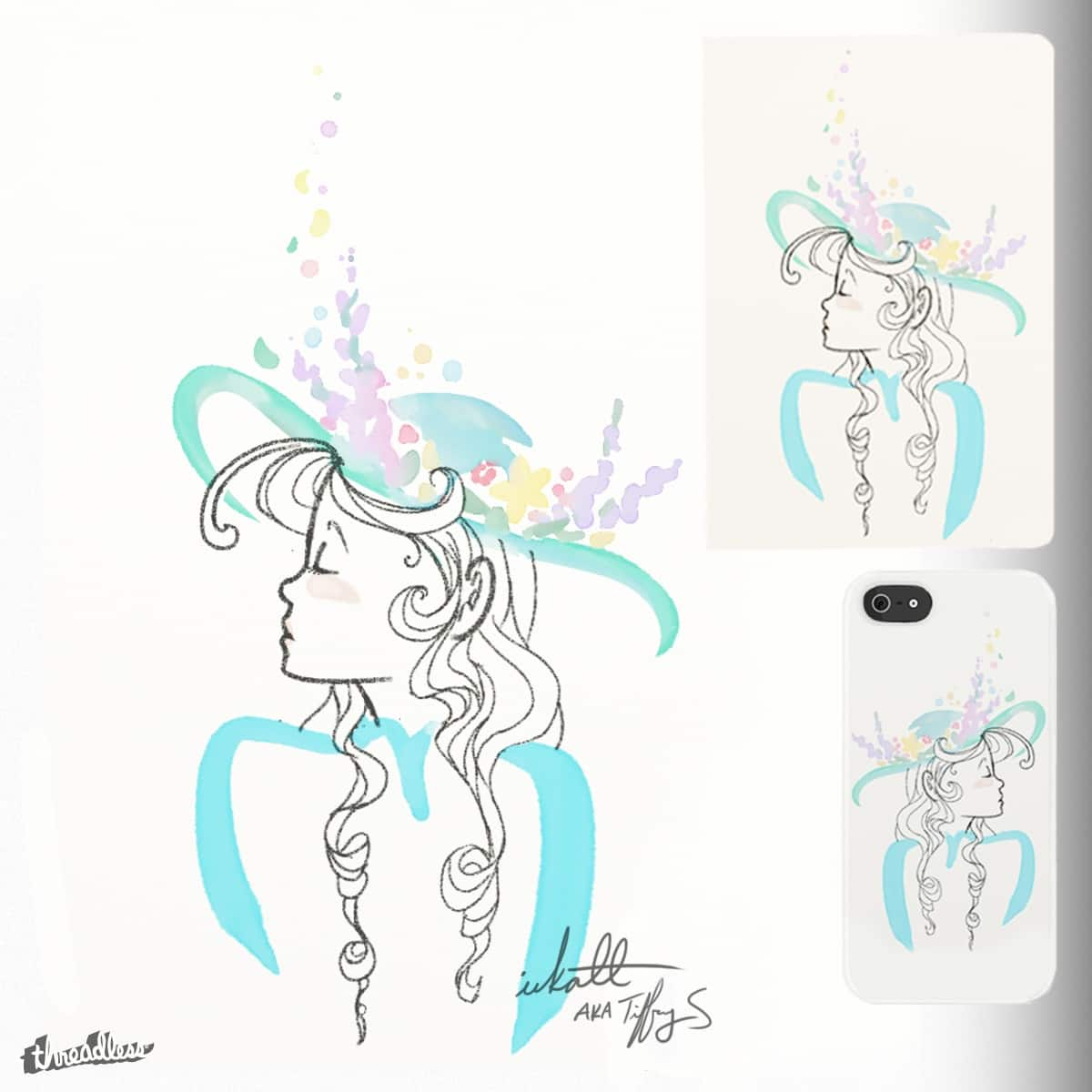 sPRiNG by inkatt on Threadless