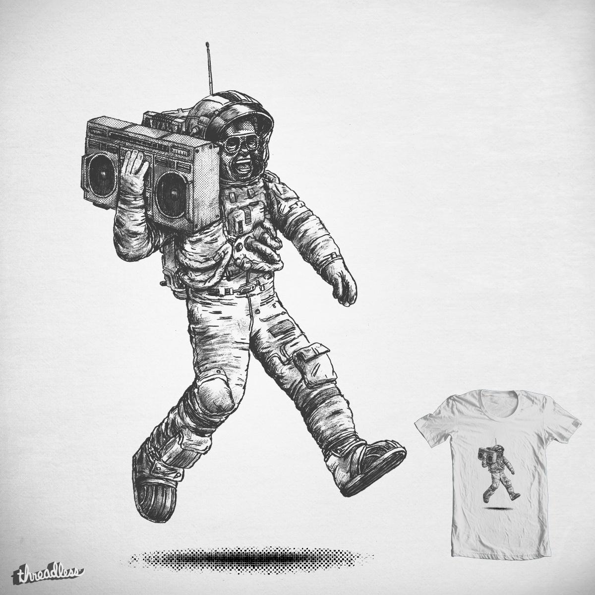 Funky Astronaut by c-royal on Threadless