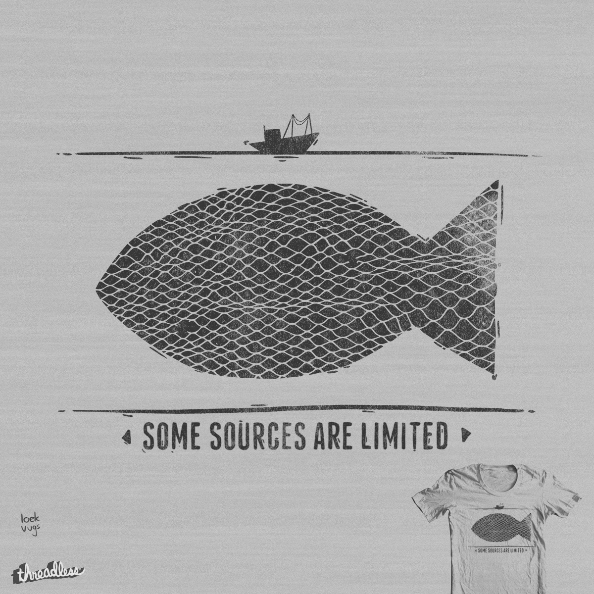 Some Sources Are Limited by Loek Vugs on Threadless
