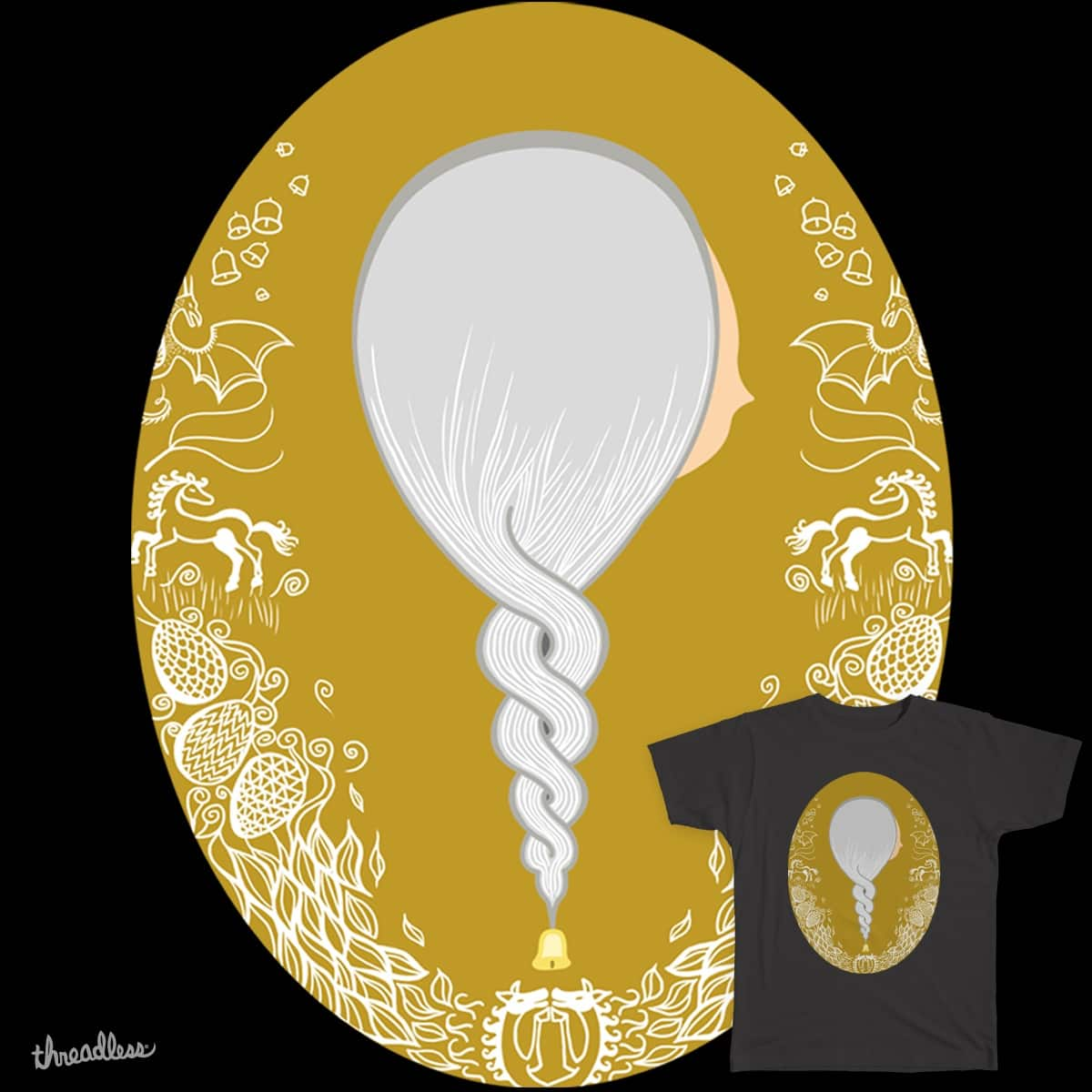 Mother of Dragons by MartaM on Threadless