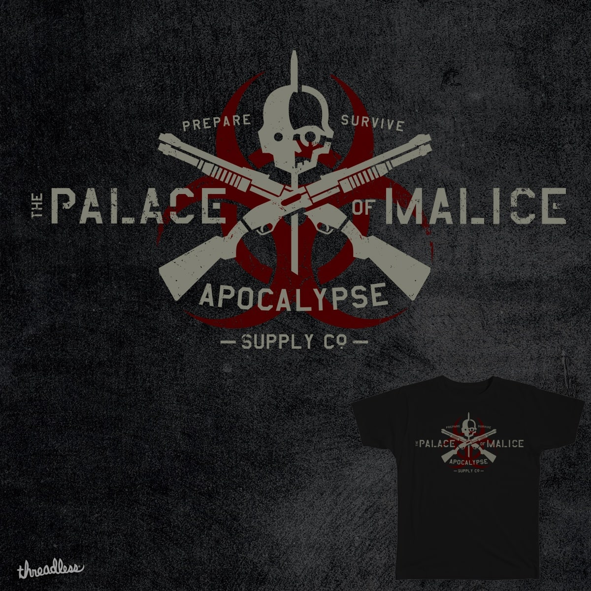 The Palace of Malace by dedlaast on Threadless