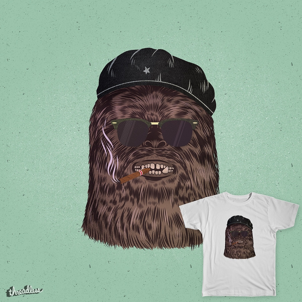 Chebacca by heymikel on Threadless
