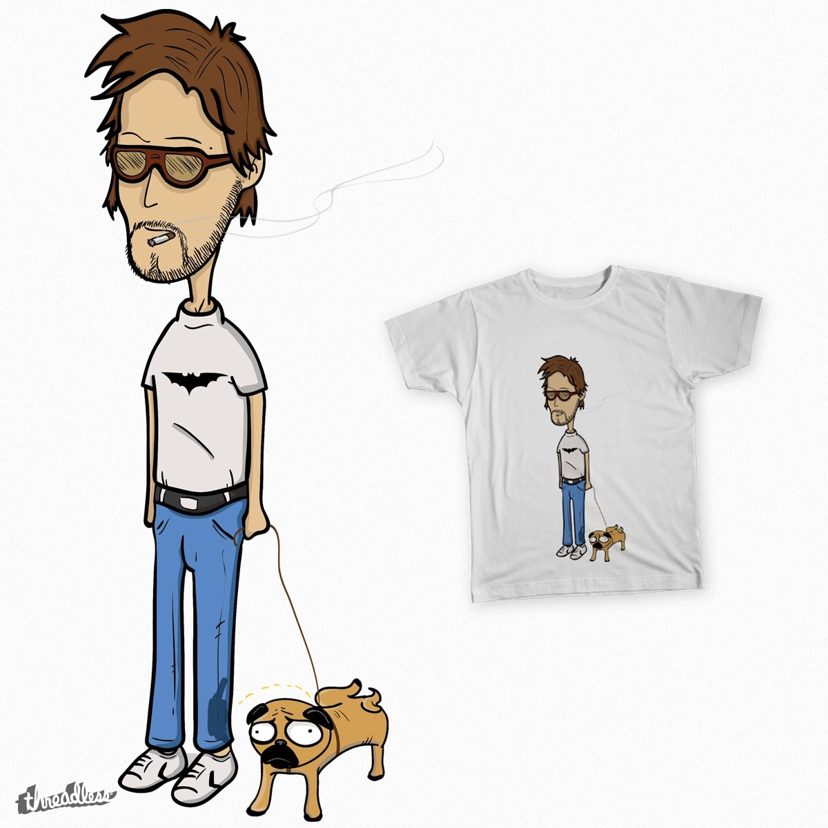 in PUG we TRUST by gianco on Threadless