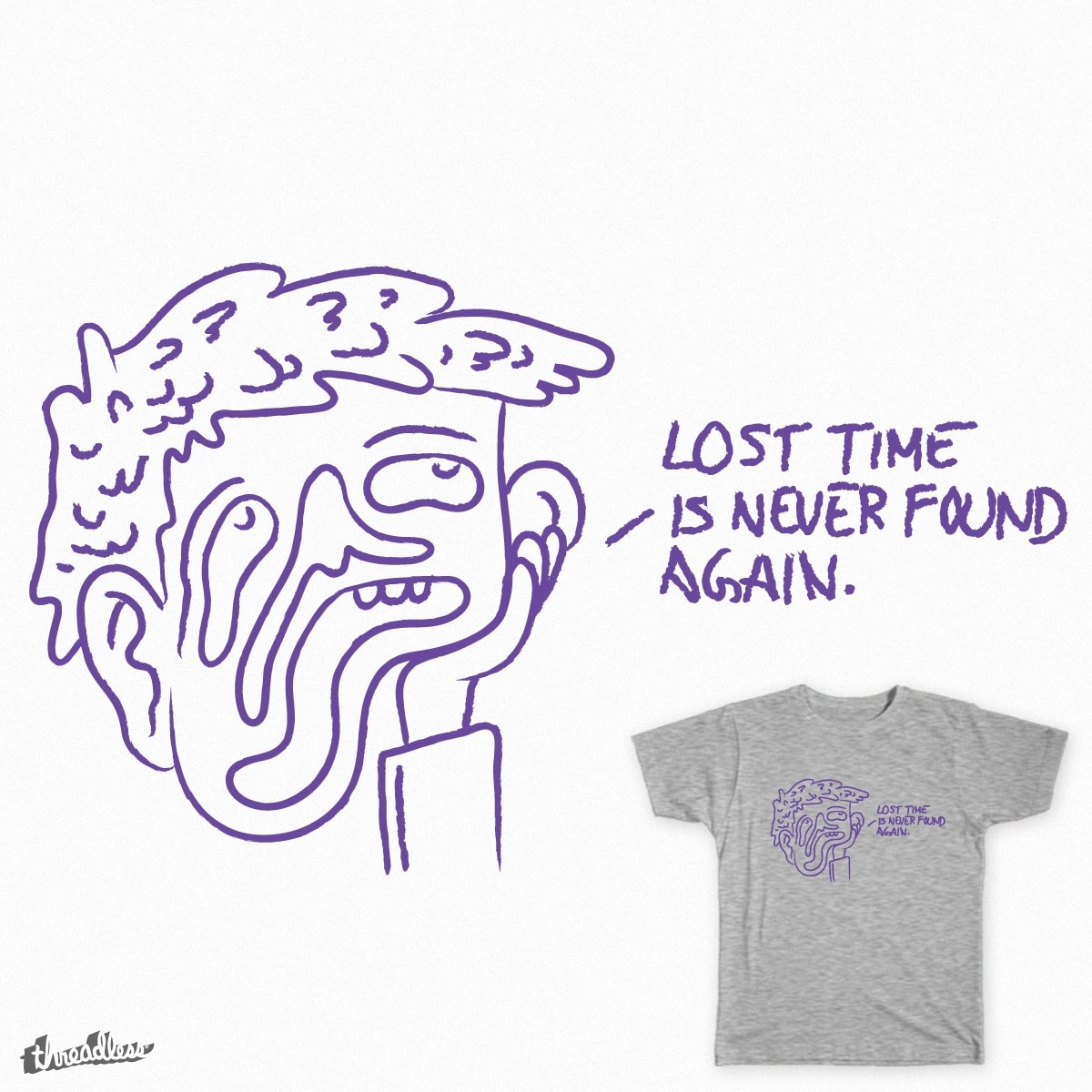 Time by Cavity on Threadless