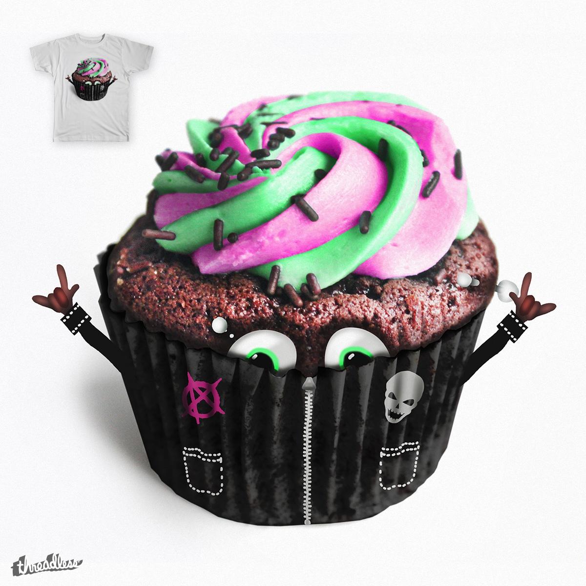 Punk cupcake! by Supabean on Threadless