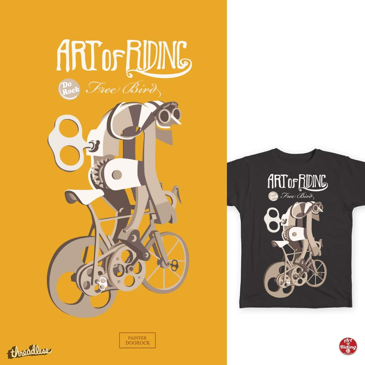 The 1913 Tour de France by doorocky on Threadless