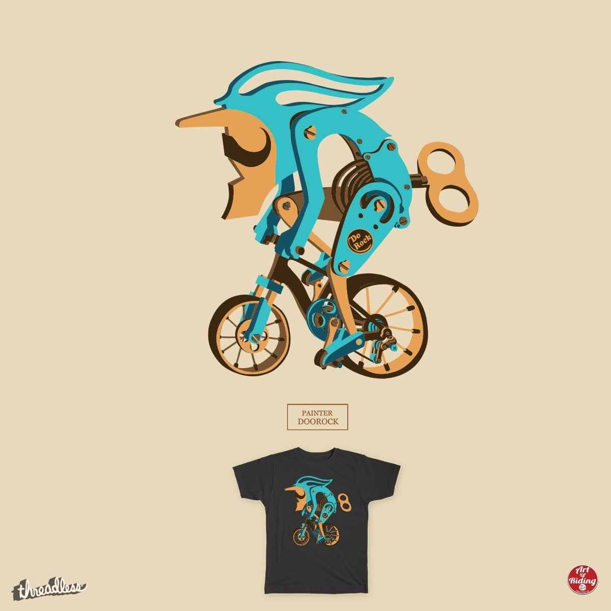 Riding artistic structure by doorocky on Threadless