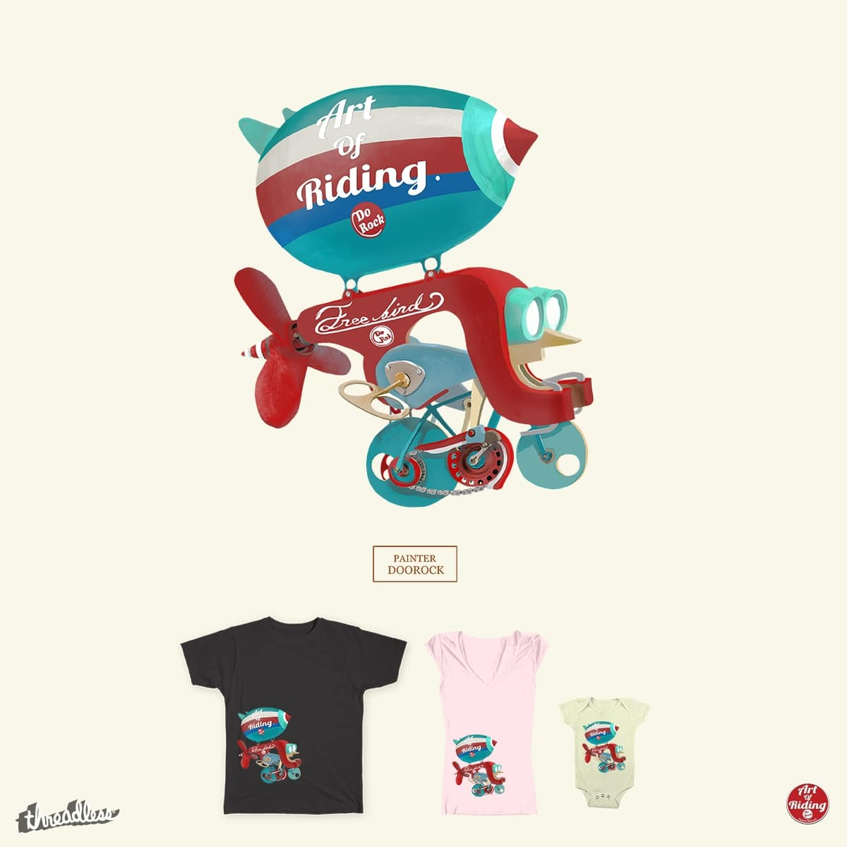 Beyond the Road by doorocky on Threadless