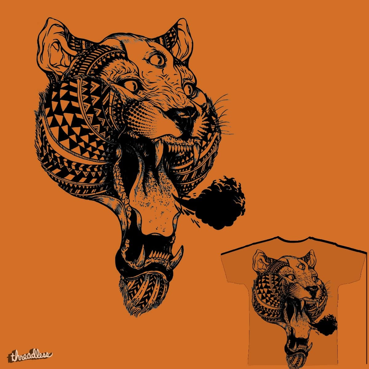 Tiger by sEndro on Threadless