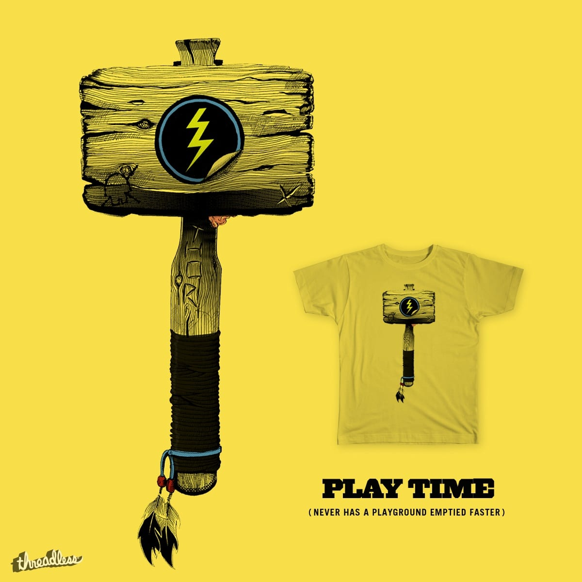 Play Time by Mr Four Fingers on Threadless