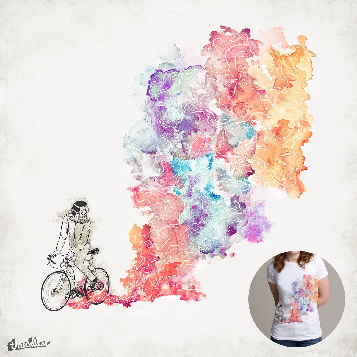 Colour Rebel by nrzed on Threadless