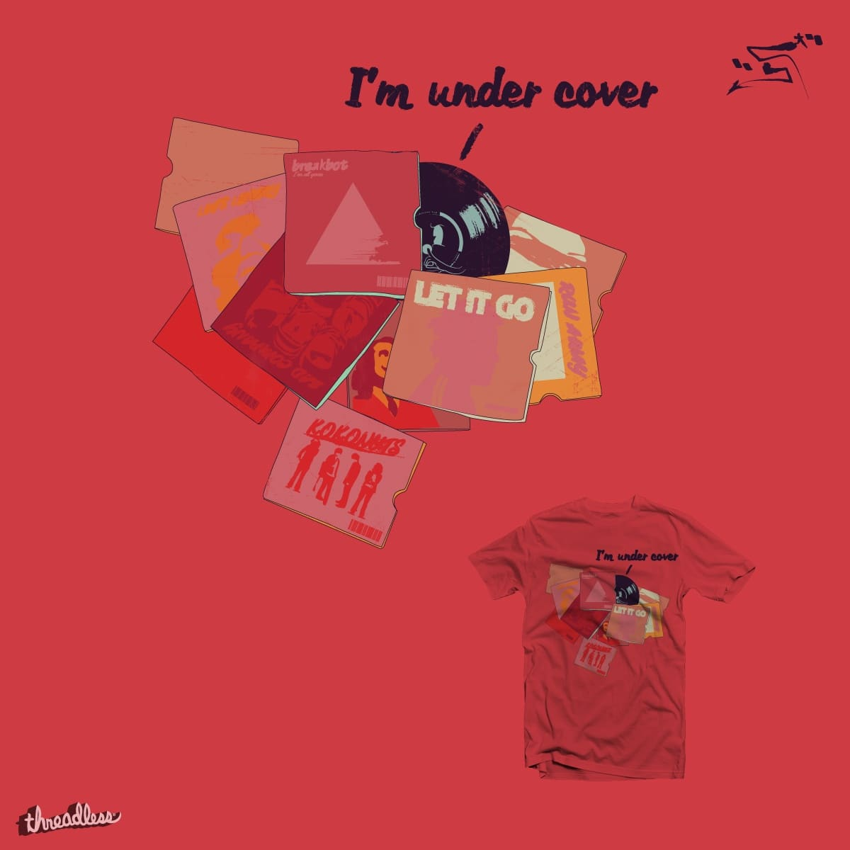 Under Cover by mucro on Threadless