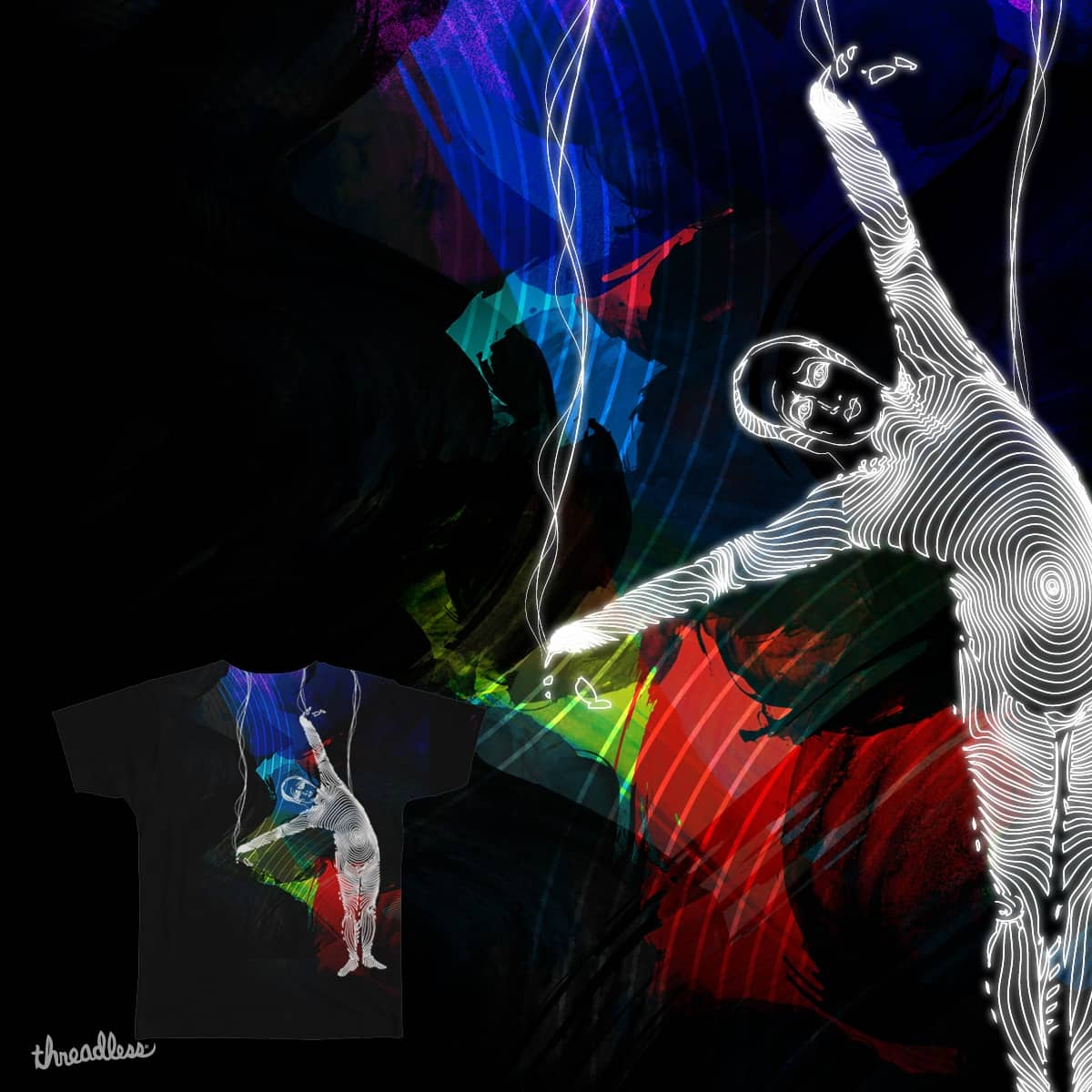 The Acrobat - Circus of Imagination by rohan.jha.792 on Threadless
